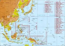 World War 3 Map by Map Of American Wwii Sub U0027s Patrols In The Pacific Google Search