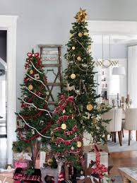 christmas christmas trees decorated image ideas how to decorate