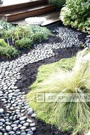Rock Garden Beds River Rock Garden Bed Faga Info