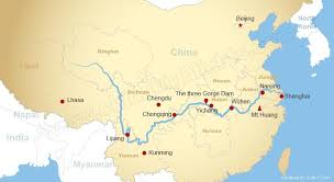 world rivers map maps of yangtze river three reaches of yangze river maps