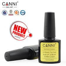 40602b china factory nails supplies canni 7 3ml uv gel matte top
