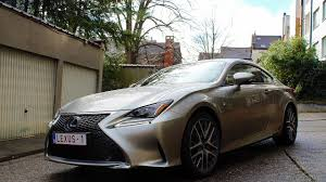 lexus rc 300 white 2017 lexus rc 300h f sport review the euro car show youtube