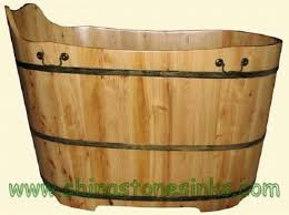 wooden bathtub wooden bathtubs insteading