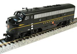 bachmann ho 64305 emd f7 a pennsylvania single stripe