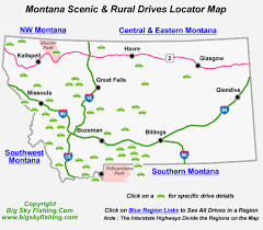 Montana scenery images Montana scenic drives backcountry byways information photos gif