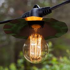 Outdoor String Patio Lights by 23 Cool Outdoor String Lights With Shades Pixelmari Com