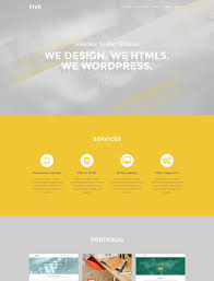 33 best free one page html templates images on pinterest first