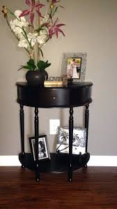 Entryway Table Decor Round Foyer Table Full Size Of Elegant Interior And Furniture