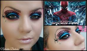 Spider Makeup Halloween by Makeup Tutorial Spiderman Inspired Youtube