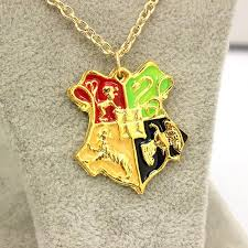 harry potter necklace images Wholesale 2016 new harry potter necklace the hogwarts crest jpg
