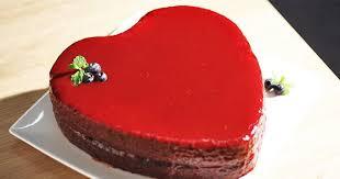 cuisine az dessert recette le gâteau de la valentin