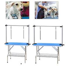 large dog grooming table large medium folding dog pet grooming table hairdressing trimming
