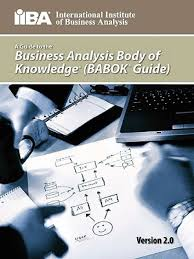 a guide to the business analysis body of knowledge r babok r