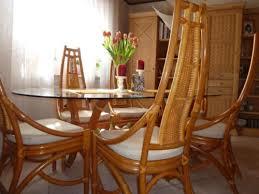 rattan esszimmer rattan esszimmer tisch mit 6 stühle in hessen friedberg hessen