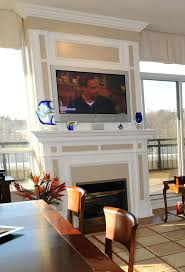 install tv over fireplace hide wires ct wall wire concealment