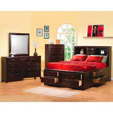 Bookcase Bed Queen Coaster Furniture 200409q Phoenix Contemporary Queen Bookcase Bed