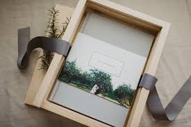custom photo album custom wooden album boxes