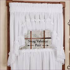 swag kitchen curtains swag curtains for kitchen will improve the