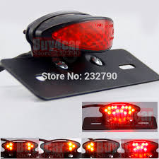 universal led tail lights motorcycle led tail light turn signal braking l gd traders