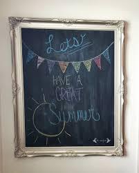 decor u0026 tips chalkboard frames with diy chalkboard for framed