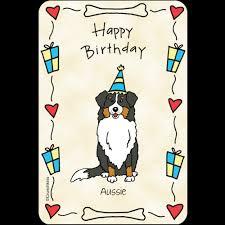 australian shepherd happy birthday aussie happy birthday dog shop by pet