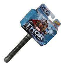 thor the dark world soft foam nerf hammer toy hasbro thor