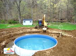 Backyard Landscaping With Pool by Backyard With Above Ground Pool Nyfarms Info