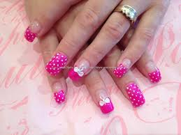 bow tie dots and bows on short nails nail art youtube cute bow