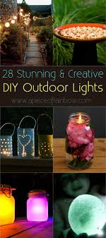 mason jar outdoor lights 28 stunning diy outdoor lighting ideas so easy a piece of