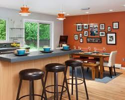 Orange Kitchen Ideas Burnt Orange Kitchen Walls Photogiraffe Me