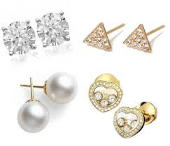 stud earrings stud earrings gold diamonds pearls more at jr dunn