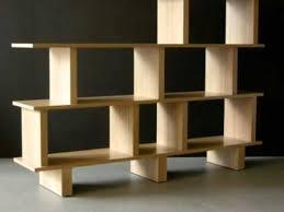 Wooden Bookshelf Wooden Bookshelf Room Divider A Great Storage Design For Modern