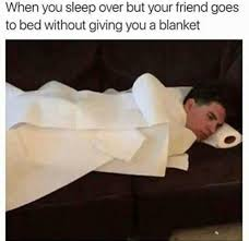 Meme Bed - dopl3r com memes when you sleep over but your friend goes to bed