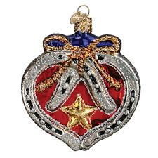horseshoe christmas ornaments handcrafted and detailed world christmas ornaments kelumac