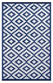 Outdoor Blue Rug Blue And White Indoor Outdoor Rug Green Decore