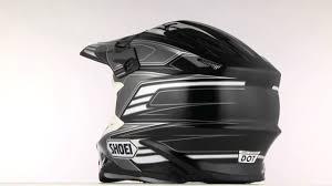 shoei motocross helmets shoei vfx w werx helmet 360 black grey youtube