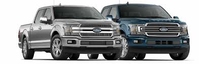 2018 ford f 150 platinum vs 2018 ford f 150 limited