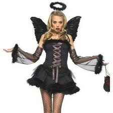 dark angel women u0027s halloween costume black angel costume