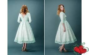 vintage tea length wedding dress weddingsrusdeco