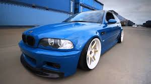 bmw m3 stanced stancenation bmw m3 e46 laguna seca blue youtube