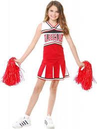 halloween costume cheerleader youth cheerleader uniforms sport equipment