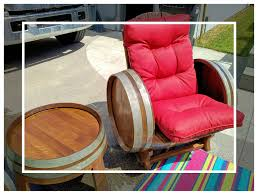 wine barrel chair u2013 a toast to you designs