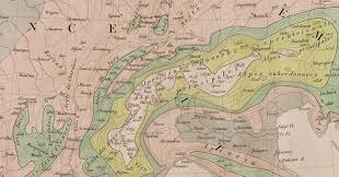 Where Is Brussels Belgium On A Map Jean Charles Houzeau And His Relief Map Of Europe 1857 Presented