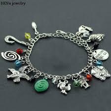 handmade charm bracelet images Dropshipping moana charm bracelets moana inspired handmade letter jpg