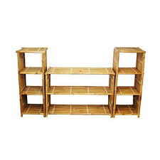 Tv Stands Furniture Shop Bamboo 54 Bamboo Pedestal Tv Stand At Lowes Com