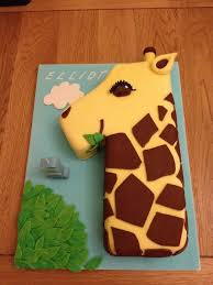 giraffe cake cutest birthday cake if still likes giraffes