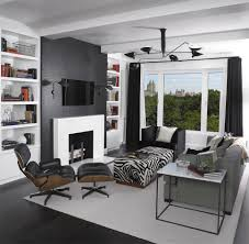 Black And White Zebra Print Bedroom Ideas Impressive Decorating Ideas Using Grey Loose Curtains And