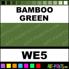 bamboo green ancient paints encaustic wax beeswax paints we5