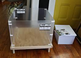 terrarium table putting together the plexi planter diy projects pinterest