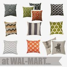 Walmart Home Decor by Throw Pillows At Walmart Lib Langdon X Walmart Warm And Inviting